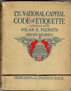 The National Capital Code of Etiquette  Dedicated to the Colored Race